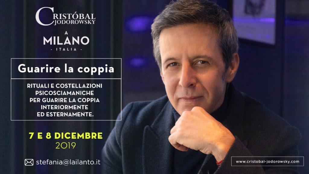 Cristobal Jodorowsky - Eventi in Italia - Guarire la coppia - MIlano