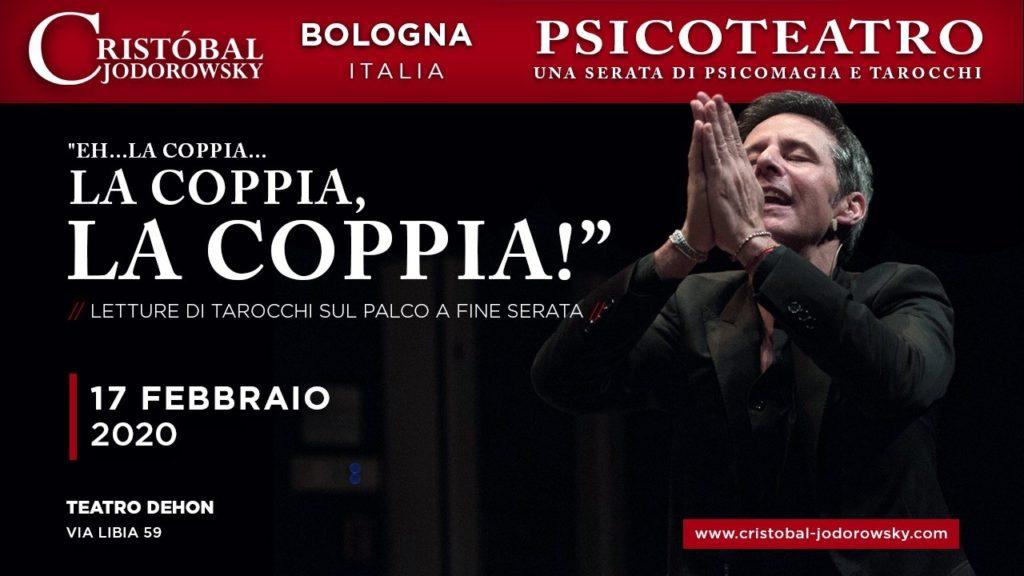 Bologna Psicoteatro cristobal jodorowsky eventi italia