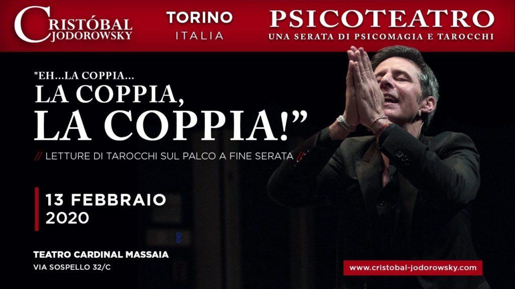 Torino Psicoteatro la coppia Cristobal Jodorowsky Eventi in Italia